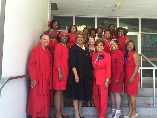 El Paso Alumnae Chapter Welcome Reception for Bishop Vashti Murphy McKenzie, National Chaplain, Delta Sigma Theta Sorority, Inc.