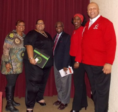 Pictured: Dr. Sandra Braham, CEO, YWCA; Twymeni Purchase, President, El Paso Chapter, NAACP; Attorney Donald Williams, El Paso Alumnae Chapter President, Christina Ford and Kappa Alpha Psi Fraternity, Inc., El Paso/Las Cruces Chapter Polemarch, David Jones, Jr.
